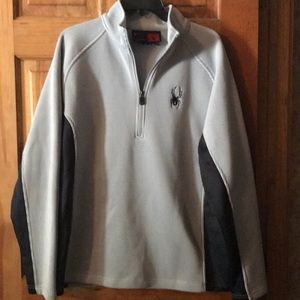 NWOT Men's Spyder 3/4 zip Jacket